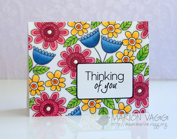 Thinking of You - Her card