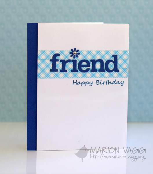 Friend - Happy Birthday