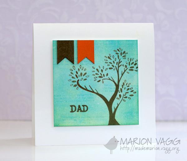 Dad - blue