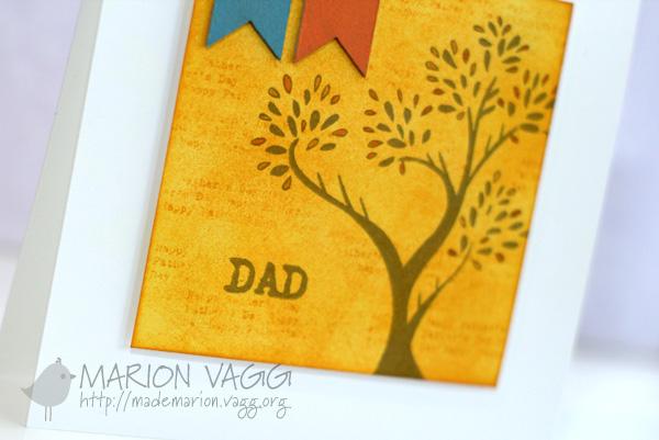Dad - orange detail