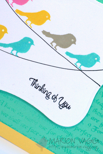 Thinking of you - detail