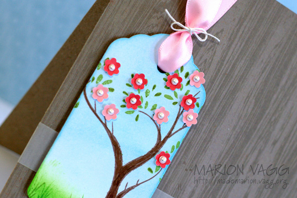 Happy Birthday Tree - detail