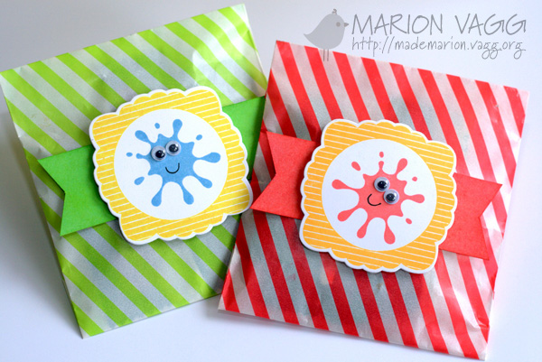 Glassine party favours