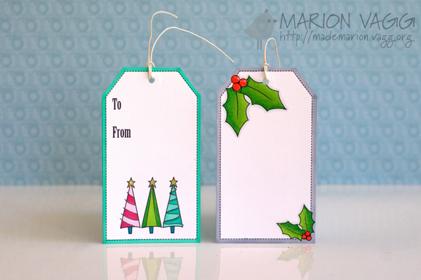 Christmas tags 1