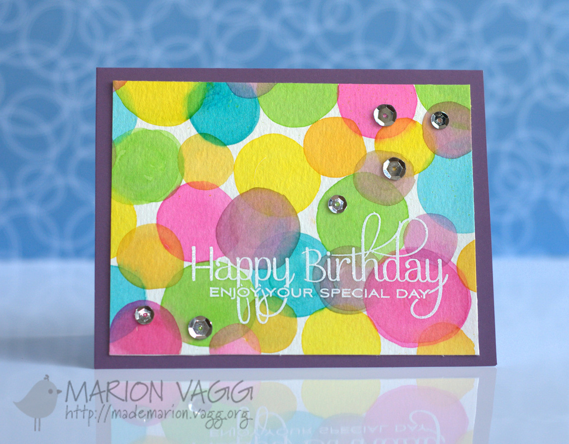 Happy Birthday | Marion Vagg