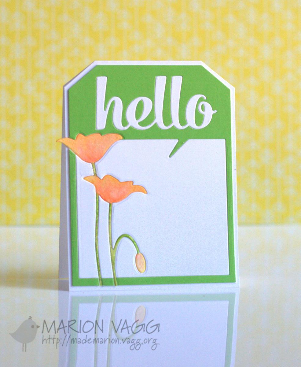 Hello Tag card