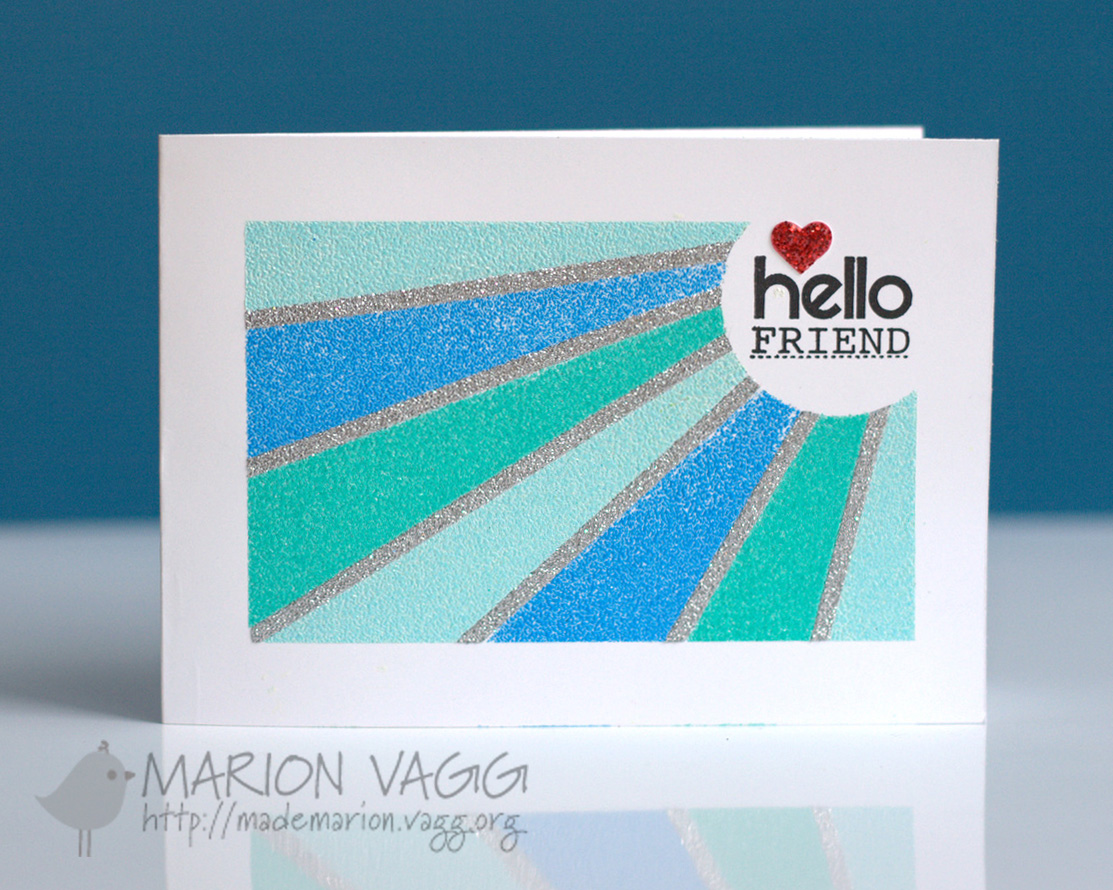 Hello Friend | Marion Vagg