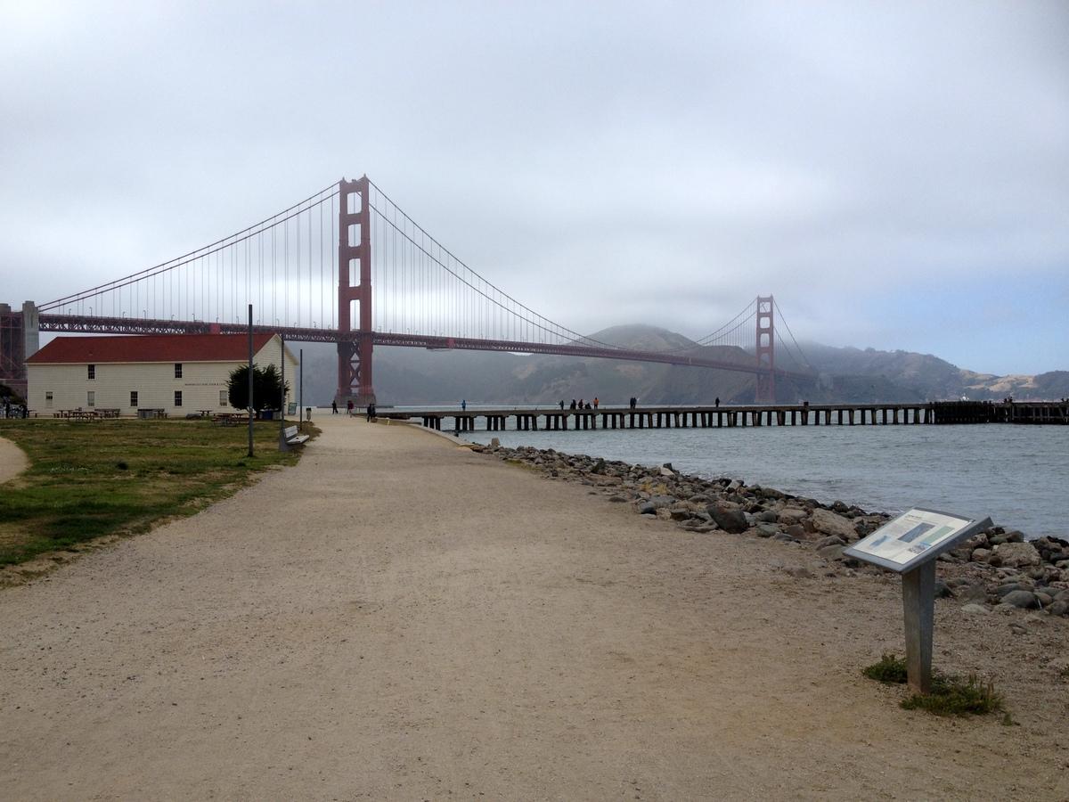 Golden Gate Bridge SF | Marion Vagg