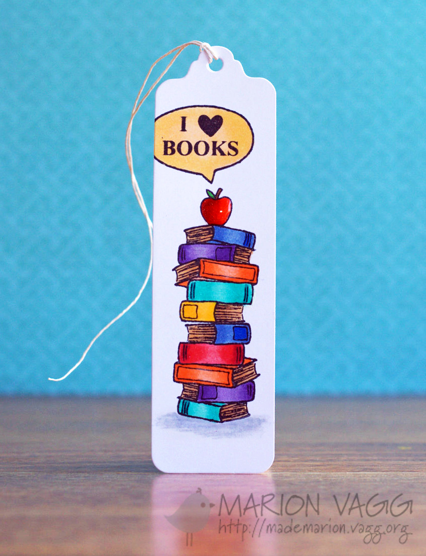 I heart books | Marion Vagg
