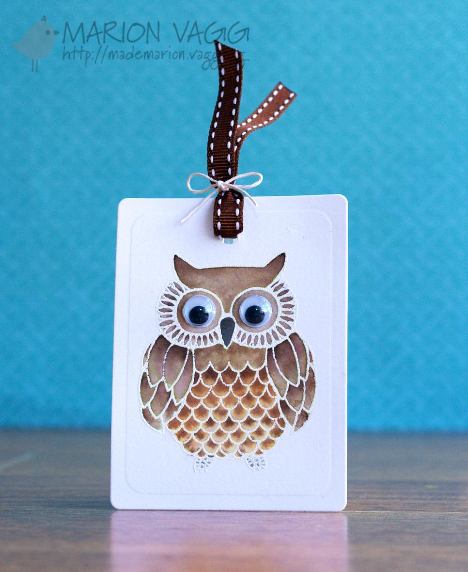Wise Owl | Marion Vagg