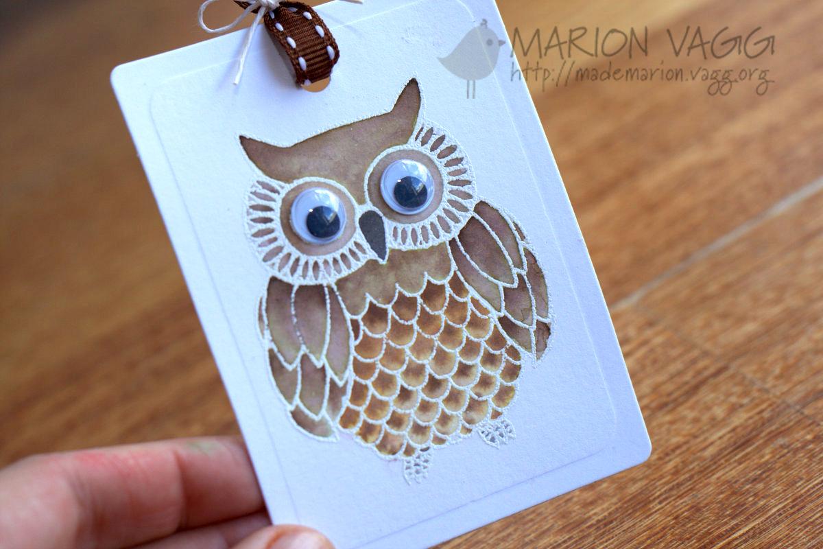 Wise Owl - detail | Marion Vagg