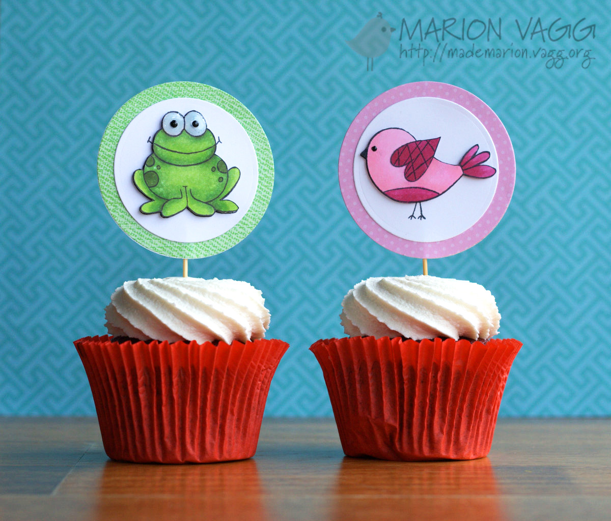 Cup Cake Toppers 1 | Marion Vagg