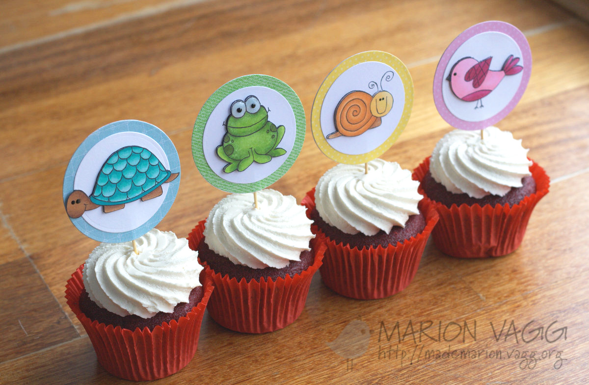 Cup Cake Toppers 3 | Marion Vagg