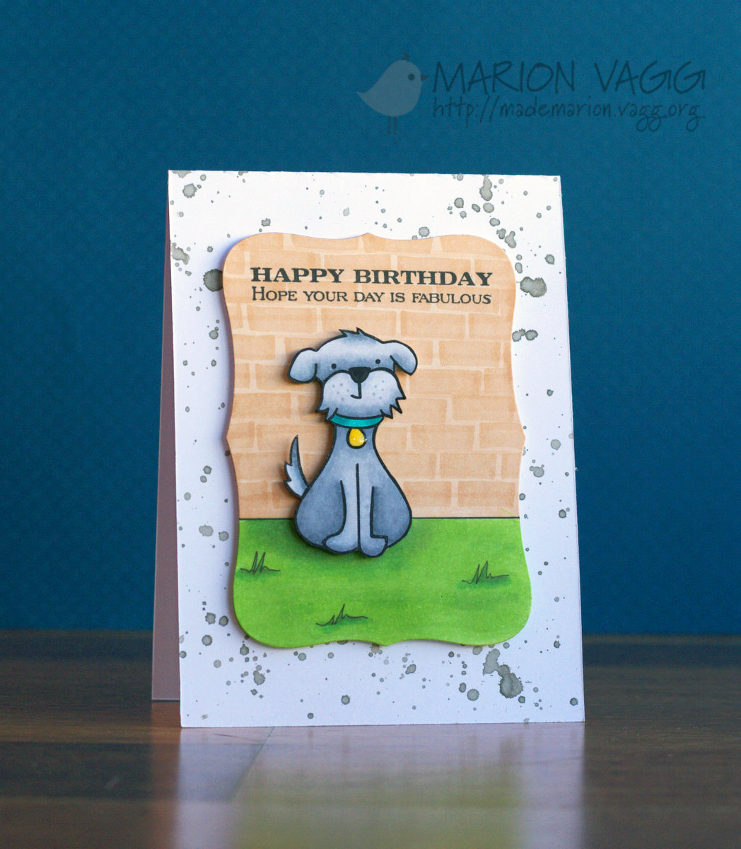 Happy Birthday Dog | Marion Vagg