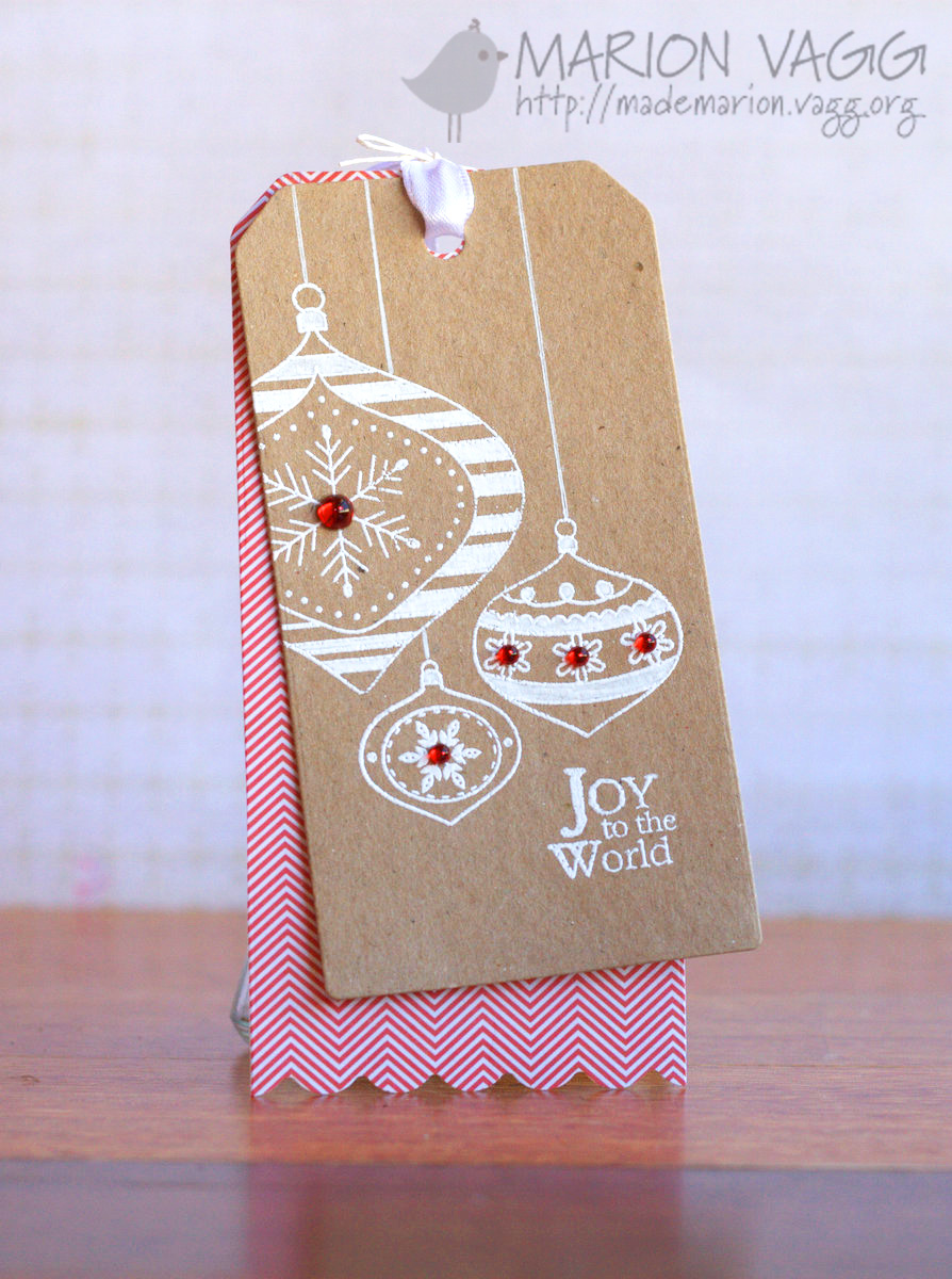 Joy to the World Tag | Marion Vagg