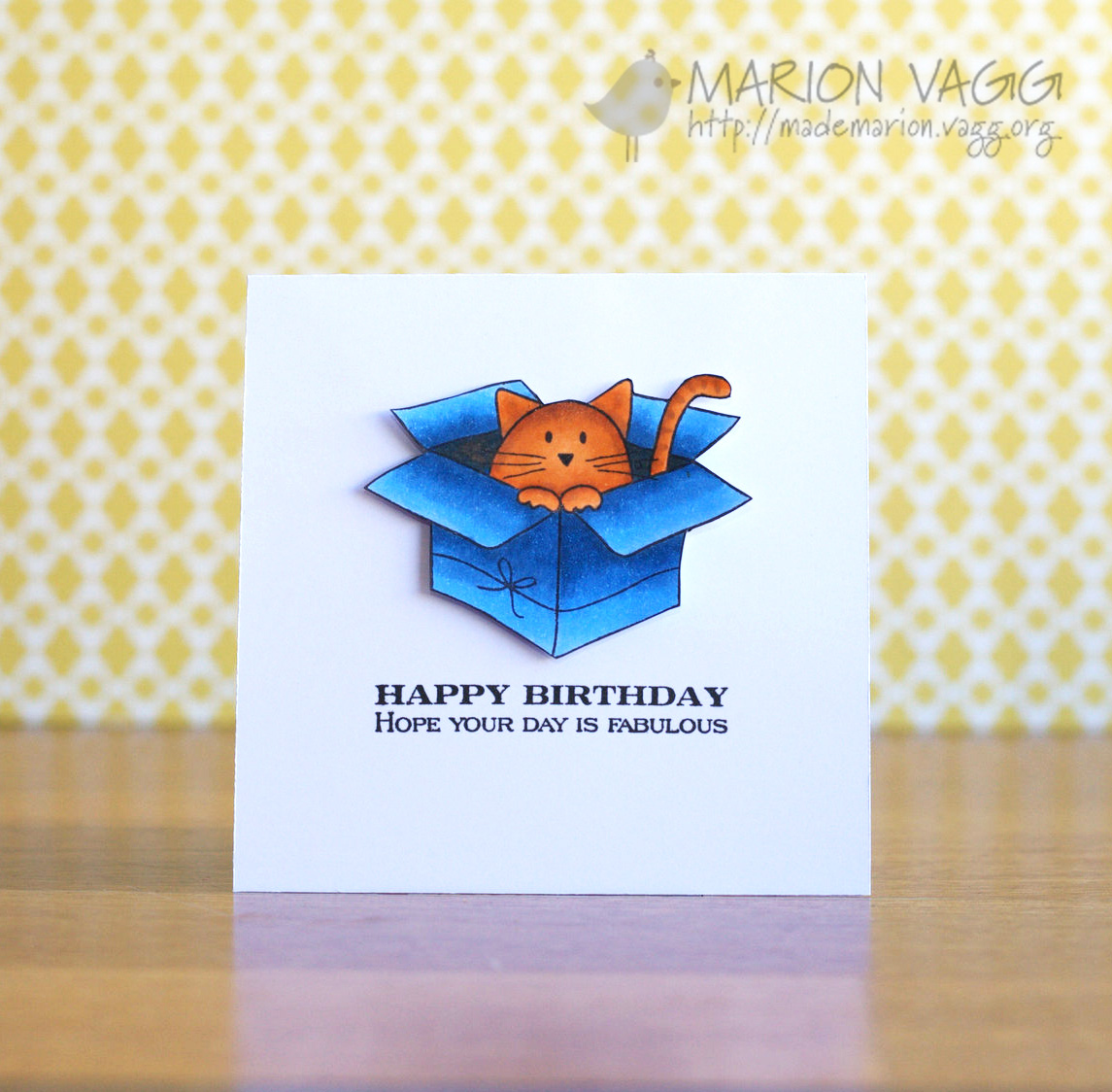 Birthday Kitty | Marion Vagg