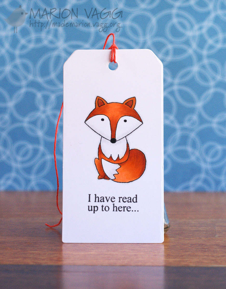 Foxy Bookmark | Marion Vagg