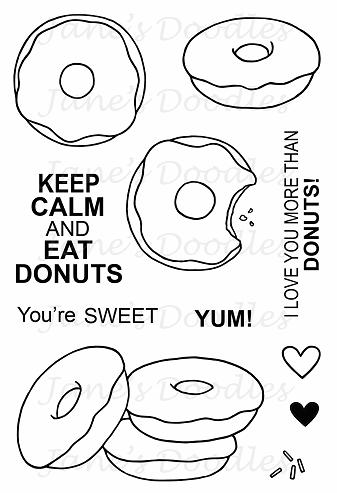 Donuts - Jane's Doodles