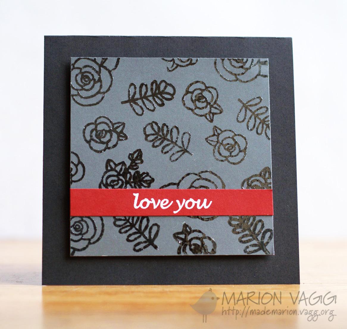 JD Love You | Marion Vagg