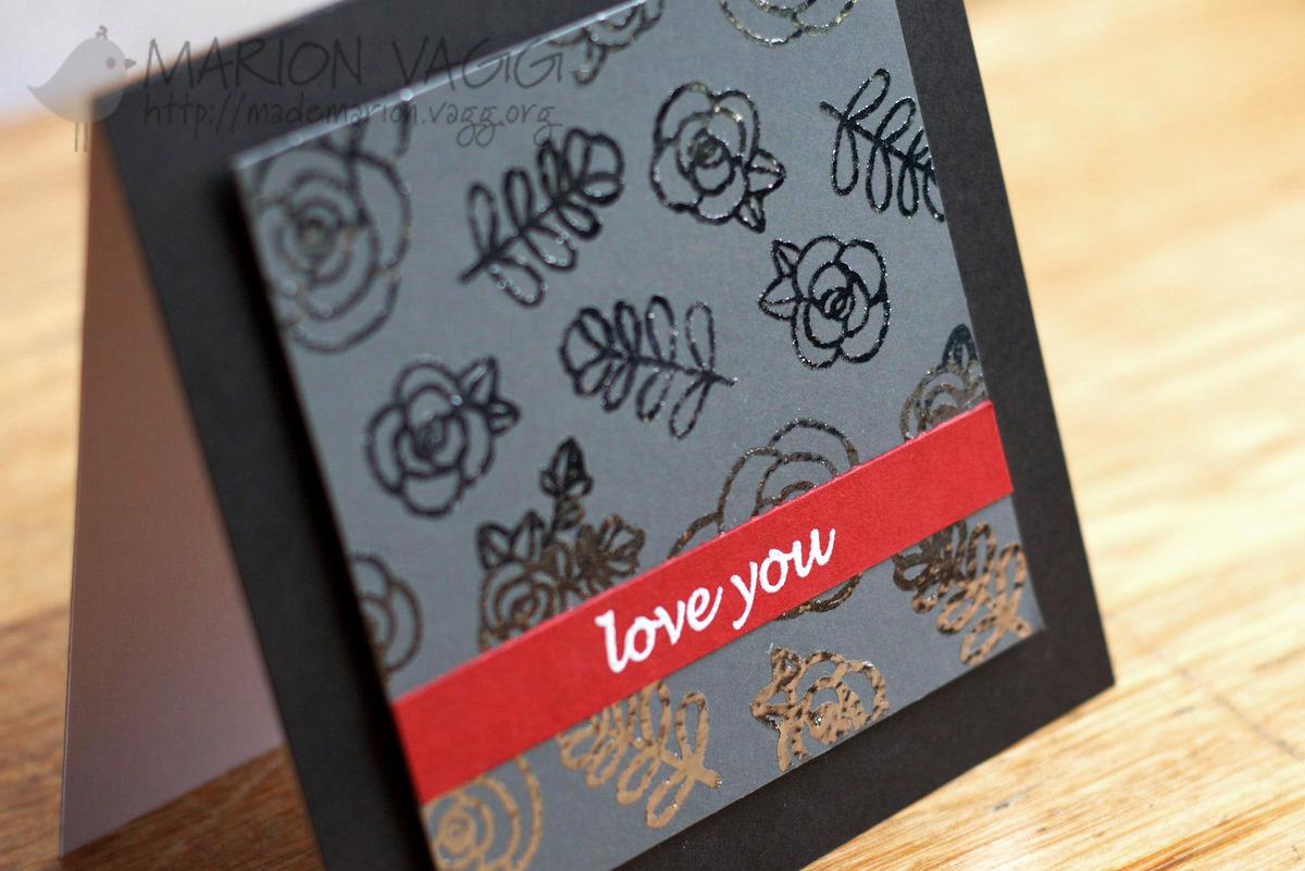 JD Love You detail | Marion Vagg