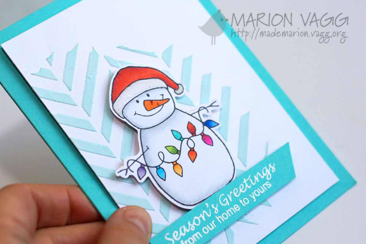 JD Snowman - detail | Marion Vagg