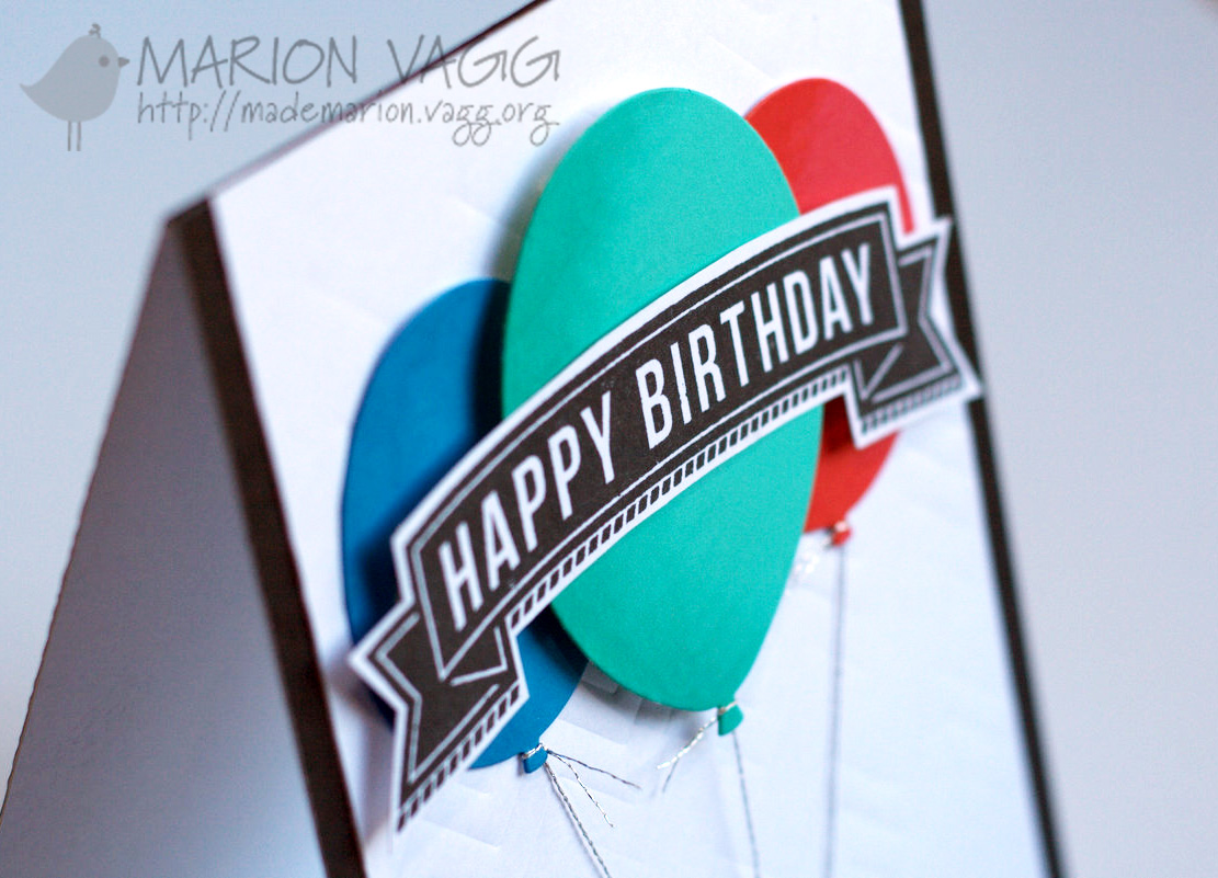 Happy Birthday detail | Marion Vagg