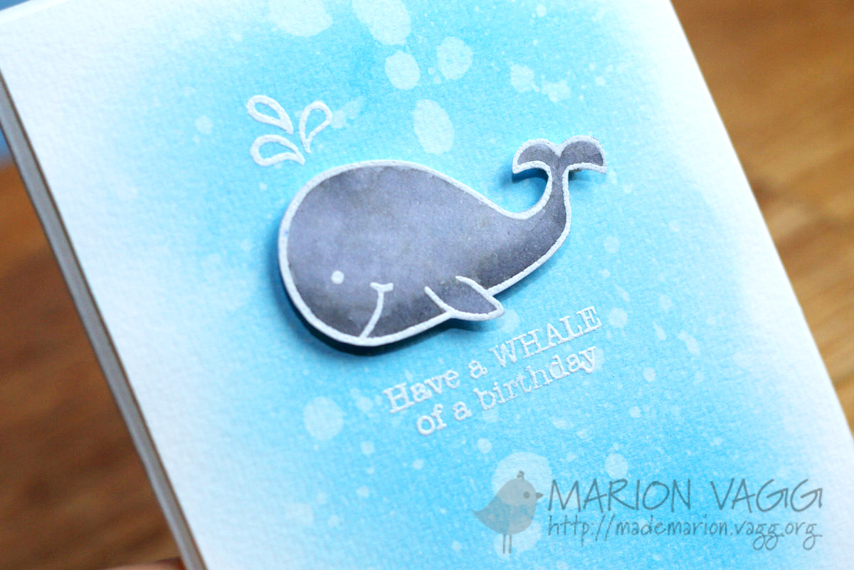 JD Whale detail }| Marion Vagg