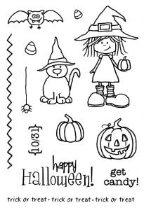 Jane's Doodles Winnie Halloween
