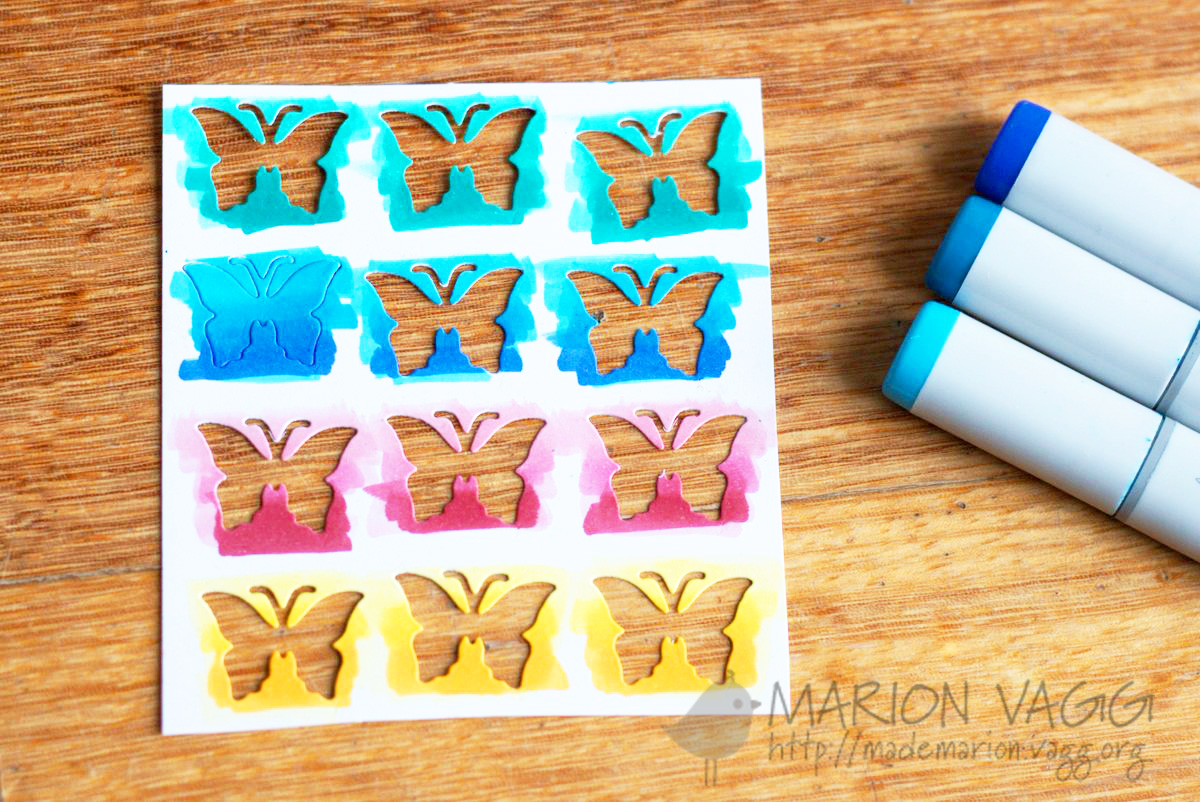 Butterfly colouring | Marion Vagg