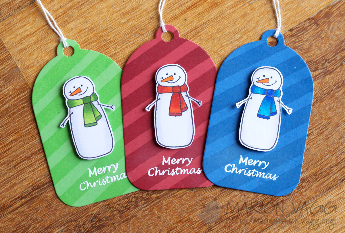 Christmas tags x 3 JD | Marion Vagg