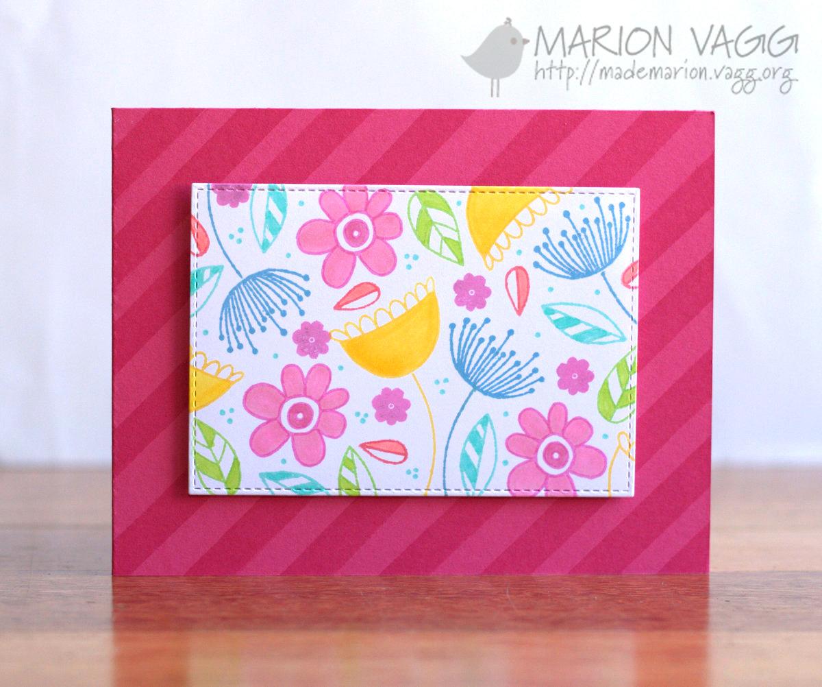 JD Doodle Flowers | Marion Vagg