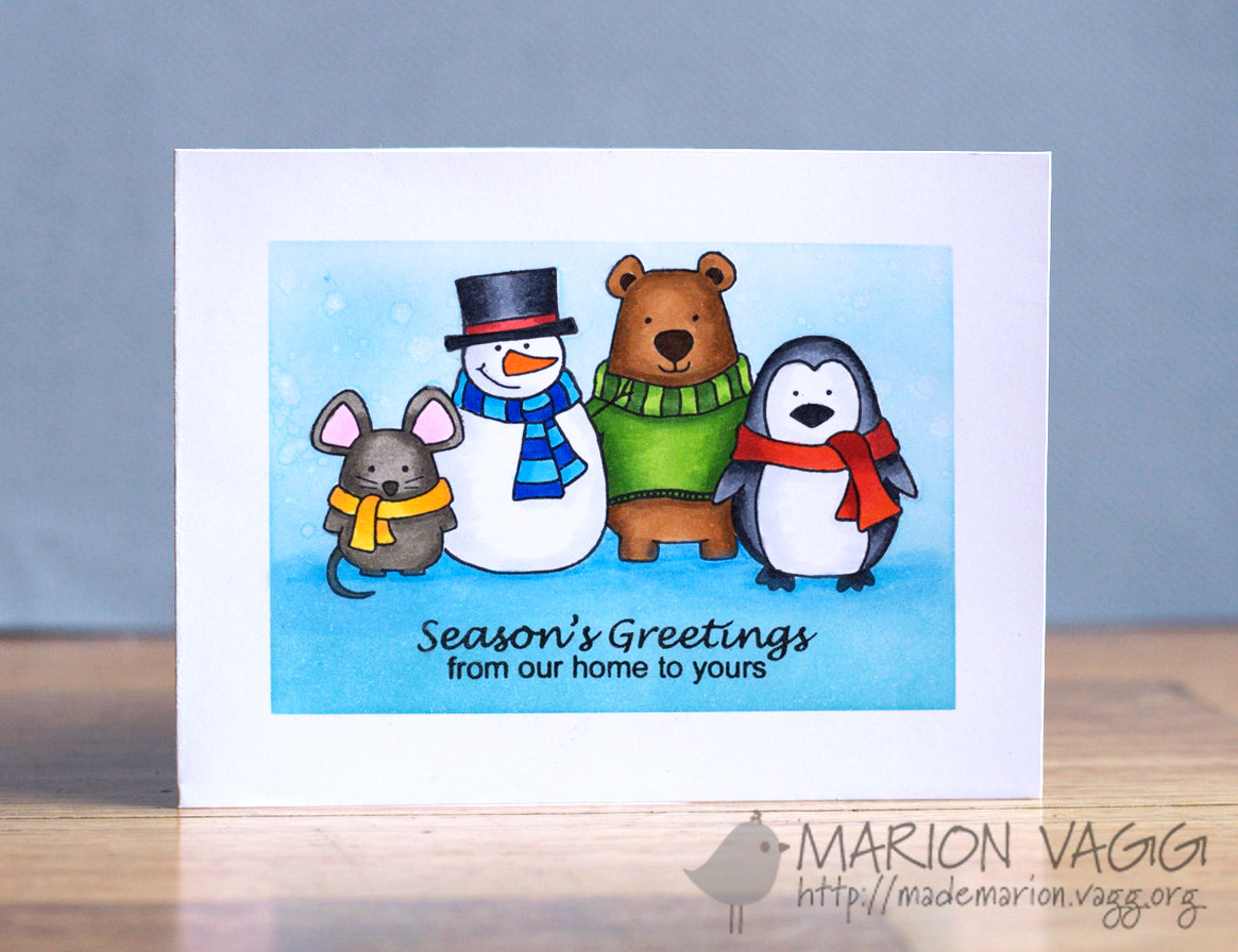 JD Season's Greeting | Marion Vagg