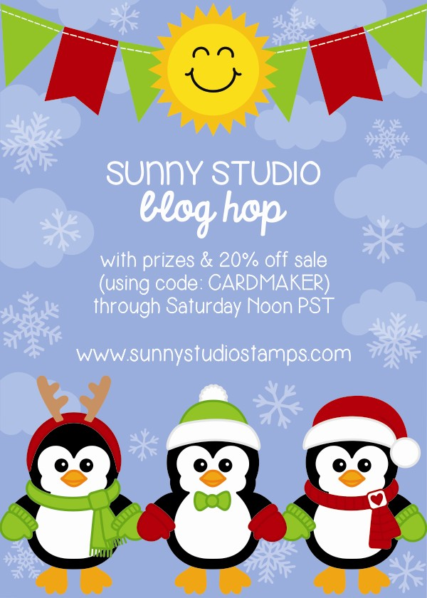 Sunny Studio & CardMaker Blog Hop