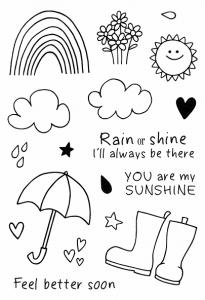 Jane's Doodle rain or shine