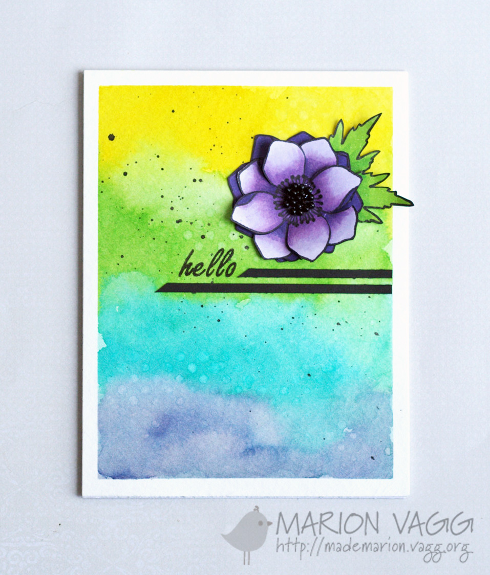 Jane's Doodles Hello | Marion Vagg