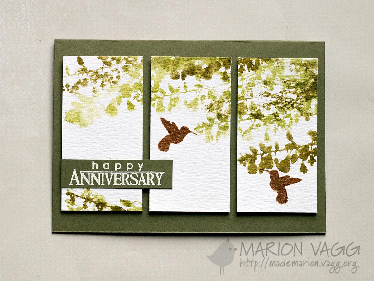 PB Happy Anniversary | Marion Vagg