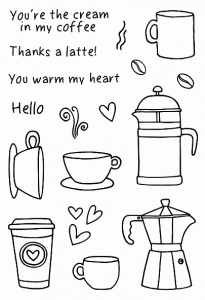 Jane's Doodles Coffee Time