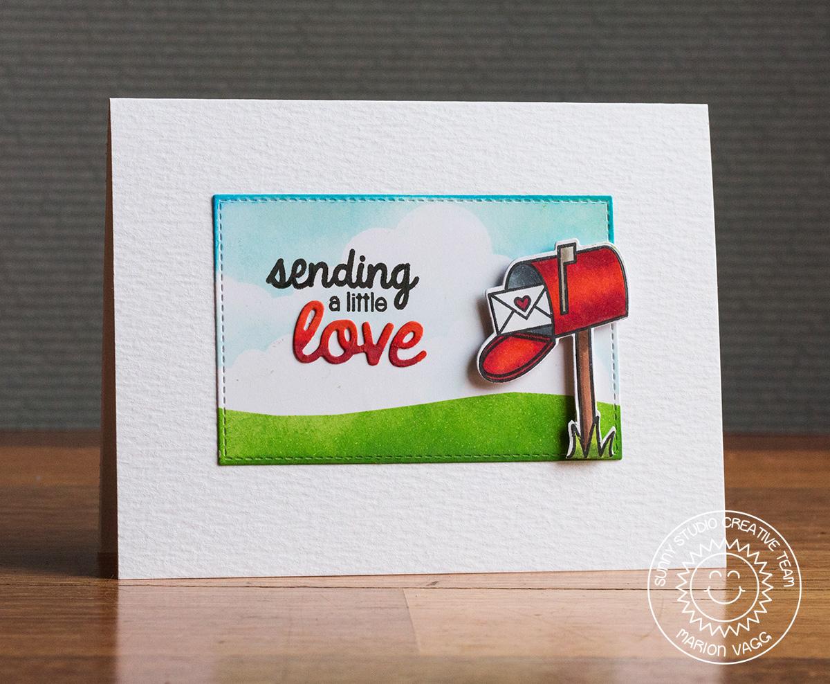 Sunny Studio Sending a little love | Marion Vagg