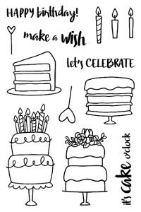 Jane's Doodles cake