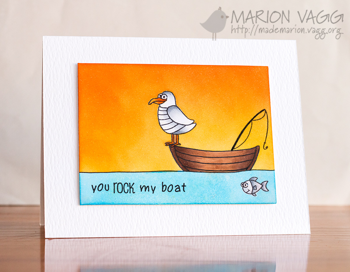 JD You Rock My Boat | Marion Vagg