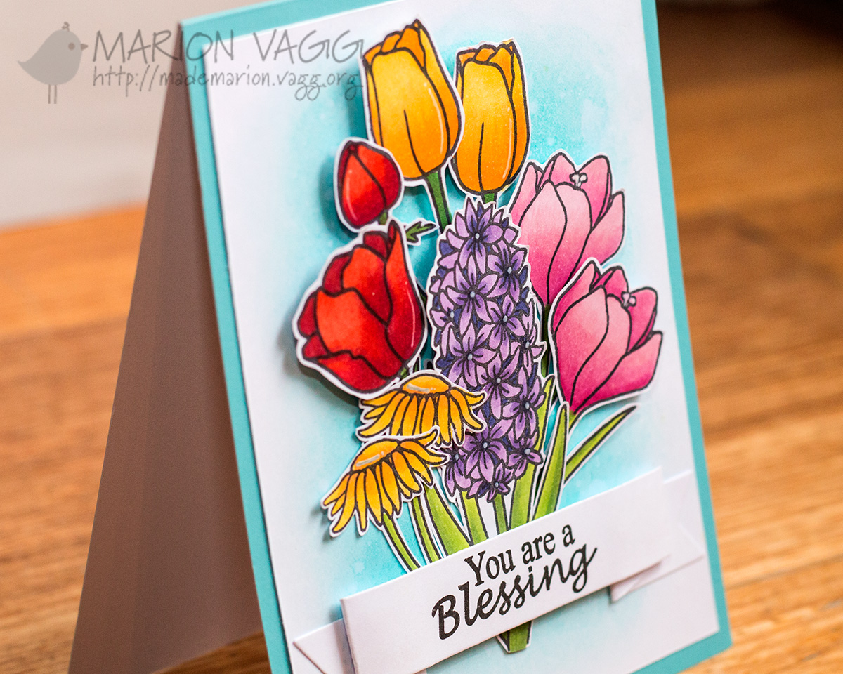 You are a Blessing detail | Marion Vagg