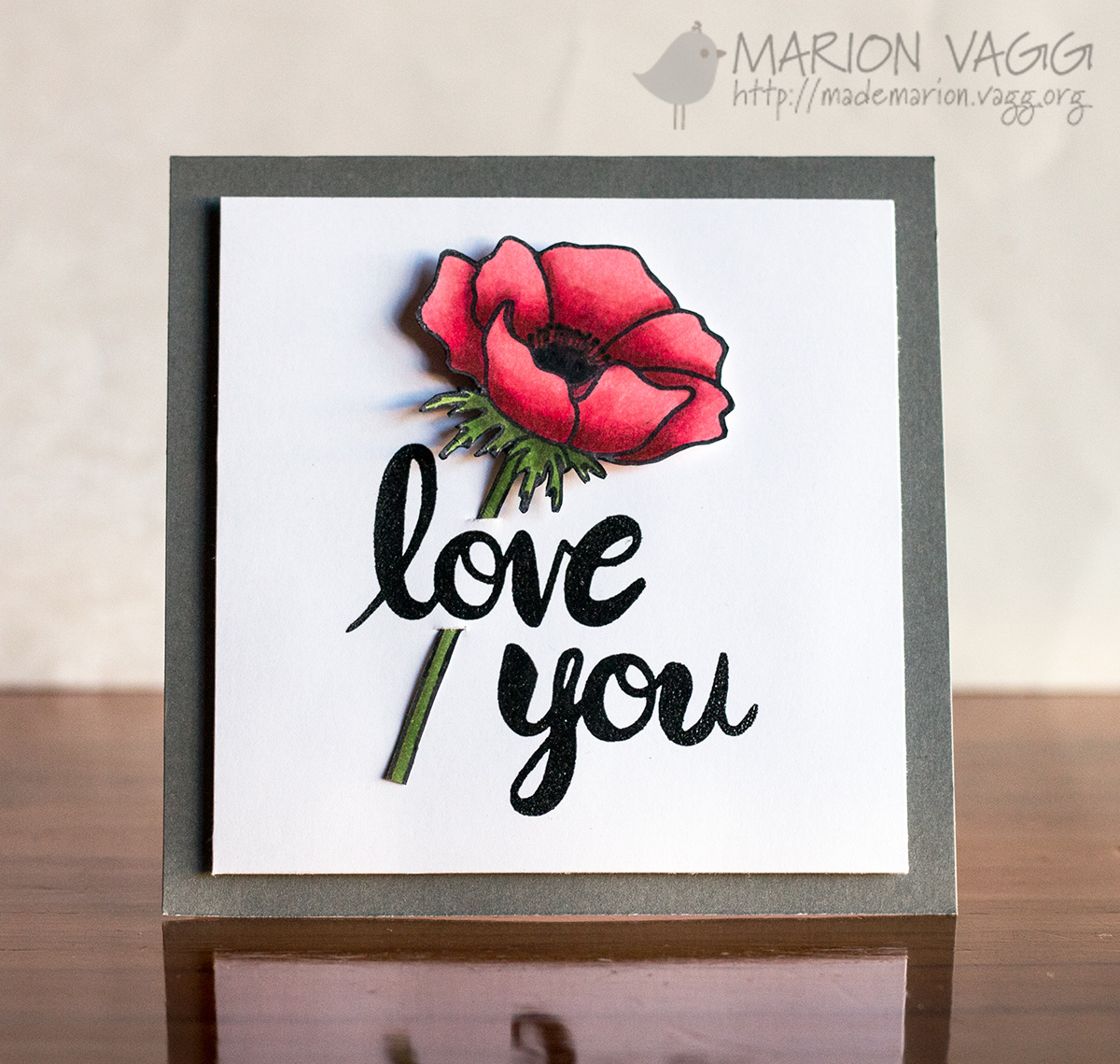 Love You JD | Marion Vagg