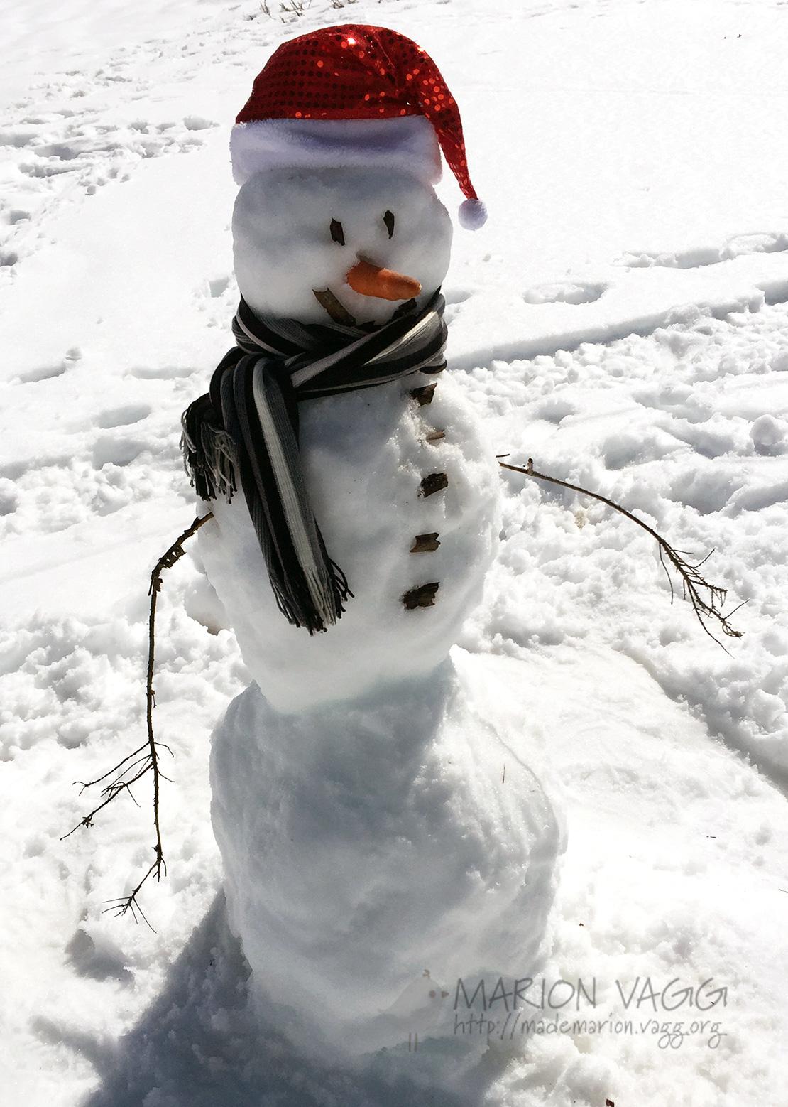 Snowman | Marion Vagg