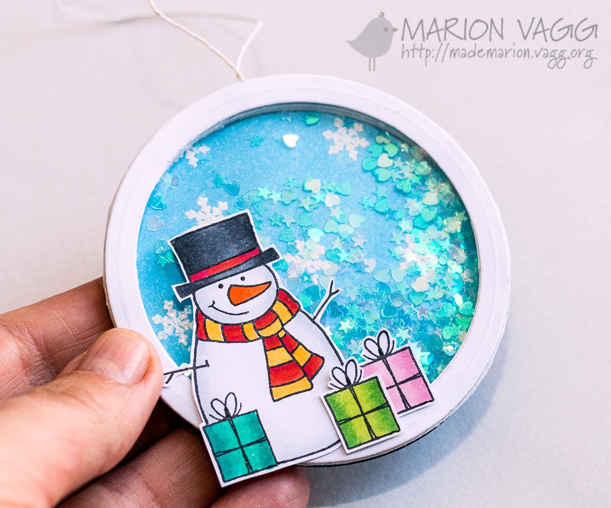 JD Snowman shaker detail | Marion Vagg