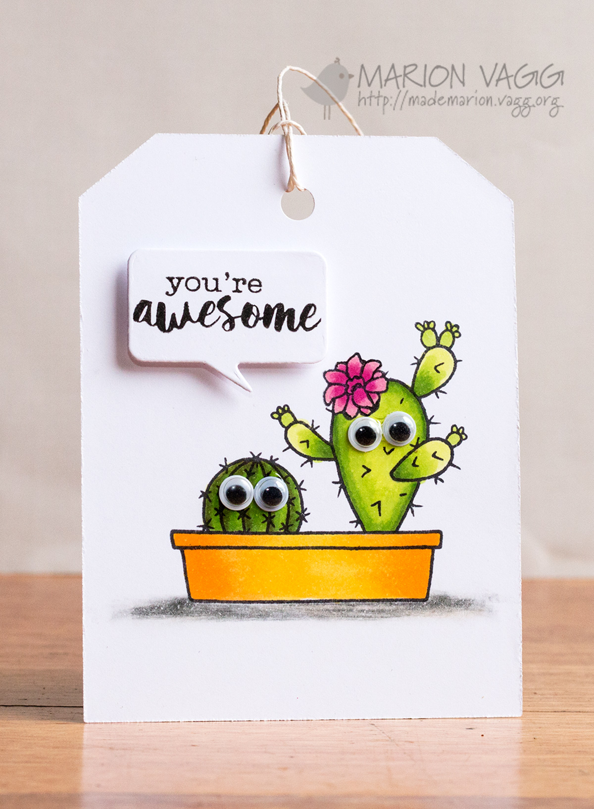 You're awesome - Jane's Doodles | Marion Vagg